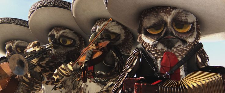 les chouettes chouettes mariachi du film Rango