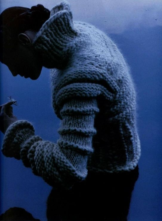 : Men Knits, Blue Sweaters, Sweaters Fashion, Bulki Knits, Blue Obsession, Pullover Knits, Misty Blue, Chunky Knits, Knits Texture