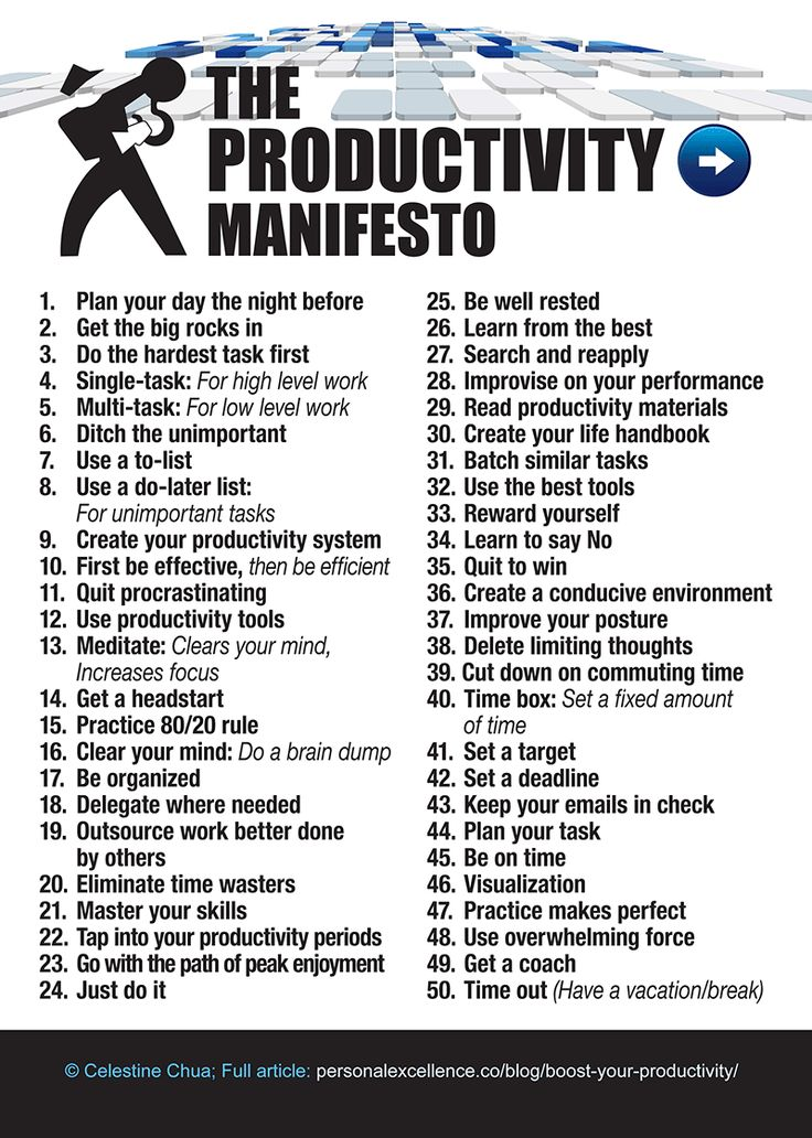 I sooo need this on a big'ol poster I can hang on the wall.....in every room in my house :) I especially need #11...I'll get it eventually