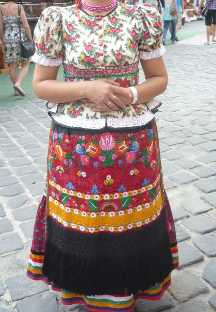 Hungarian, matyo embroidery