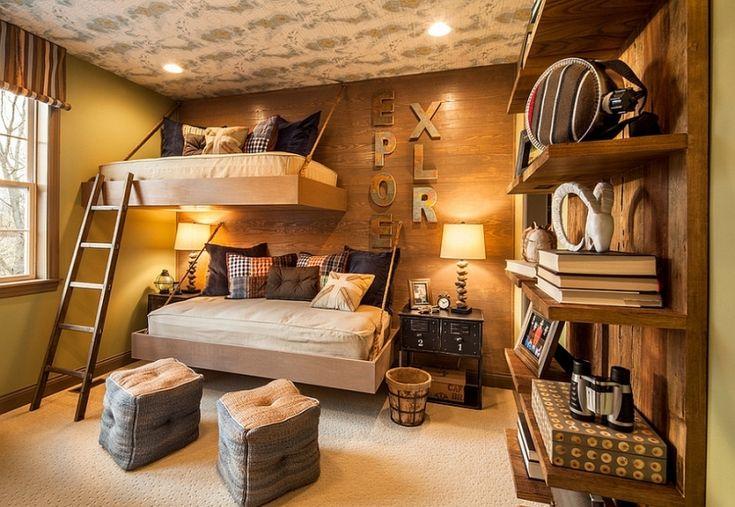 23 Creative And Cozy Rustic Kids Bedrooms | Kidsomania