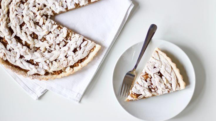 Klasický jablečný koláč – A co teda jíš? – Veganské recepty