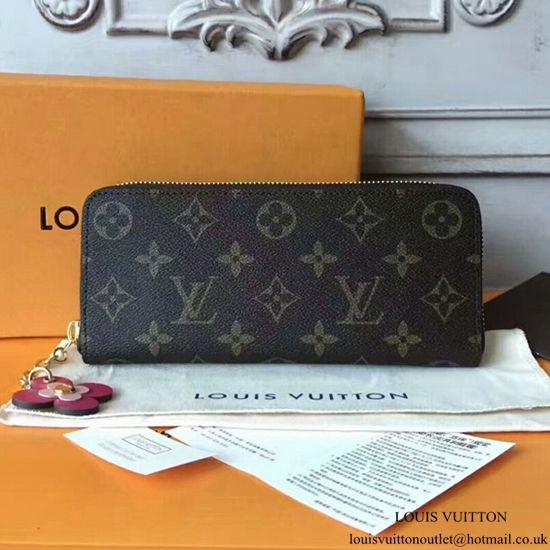 low cost 5e5d3 e72e1 Louis Vuitton Clemence Wallet Monogram Canvas M64201 ...