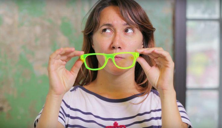 #Eye2Eye com a artista e BASE jumper Paloma Oliveira, que está buscando entre testes com impressão 3D, e corte a laser, os óculos perfeitos. Venha ver!