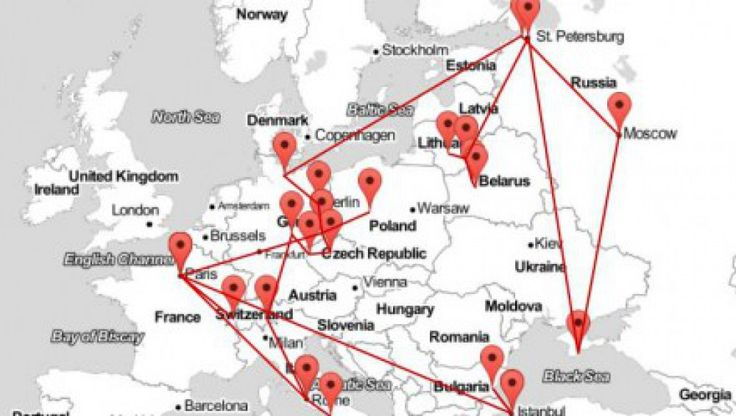 Migrating Mickiewicz: from Nowogródek to Constantinople [STORYMAP]  http://culture.pl/en/article/migrating-mickiewicz-from-nowogrodek-to-constantinople-storymap  During PO Kingdom of Poland Tour we wil show you the traces of Mickiewicz in Vilnius. Find out more about our itinerary: http://polishorigins.com/document/kingdom_tour