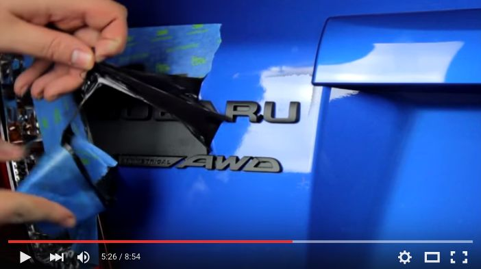 How To Plasti Dip Your Emblems/Badges on Your Car
