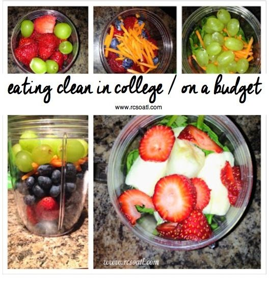 How to eat clean in college / on a budget