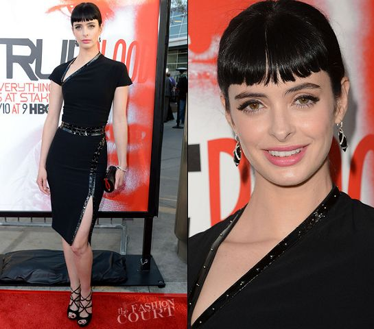 Krysten Ritter in Alexander McQueen | HBO's 'True Blood' 5th Season Premiere