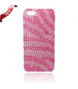 iPhone 5 Cases : Bling Case Zebra Pink