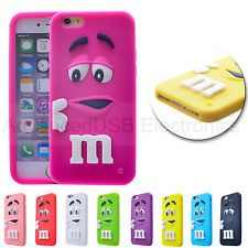 NEW Coque M&M'S Pour Iphone 6/4S/5S Silicone Souple Etui Housse 3D Chocolate Hot
