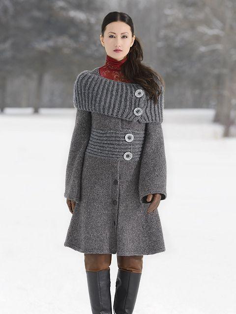 Ravelry: Moscow Coat pattern by Vladimira Cmorej