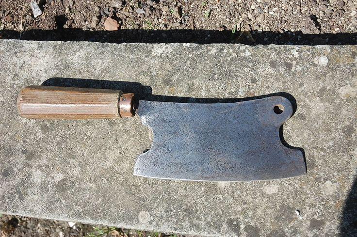 feuille de boucher - lame de 18 cms de long - ancienne et bel etat