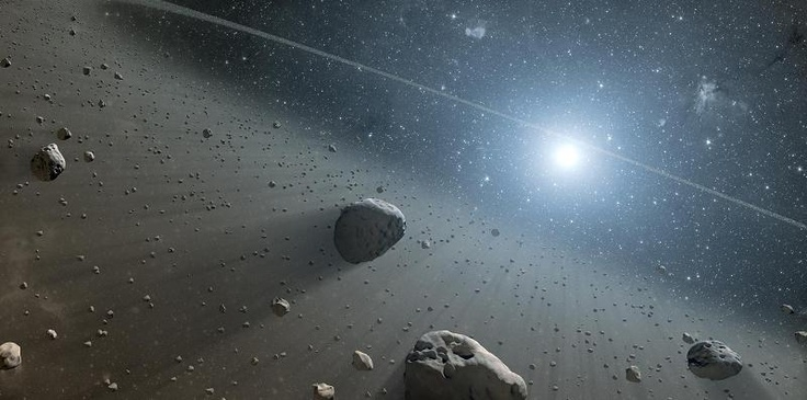 NASA, ESA Telescopes Find Evidence for Asteroid Belt Around Vega    http://www.astrowatch.net/2013/01/nasa-esa-telescopes-find-evidence-for.html#