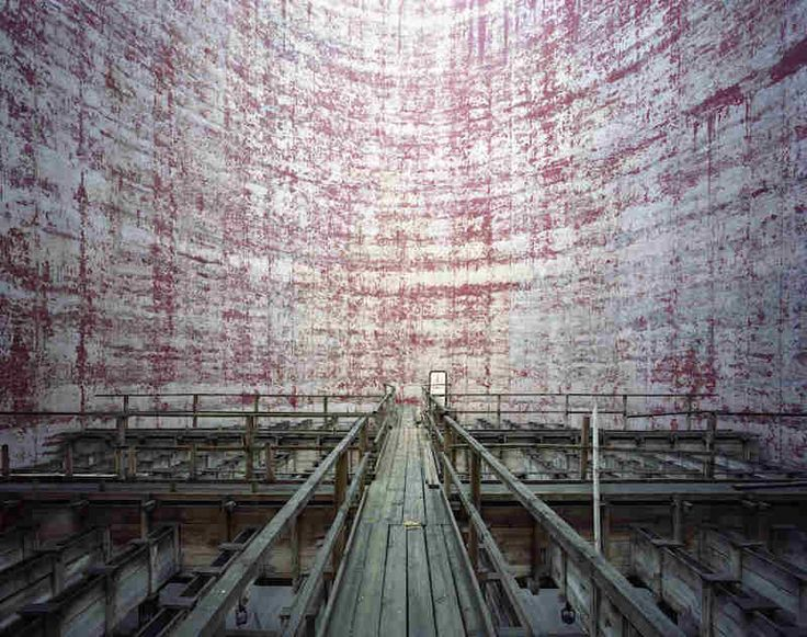 Cooling Tower, Power Station, Scheibler Textil Factory, Poland, by Yves Marchand & Romain Meffre (Polka Galarie)