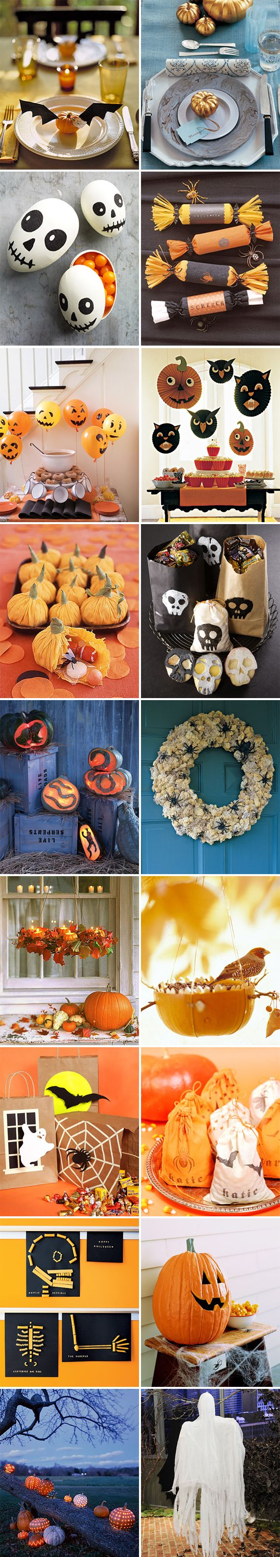 october: Halloween Decorations, Halloween Stuff, Decor Ideas, Martha Stewart Halloween, Halloween Parties Ideas, Halloween Crafts, Parties Stuff, Easter Eggs, Halloween Ideas
