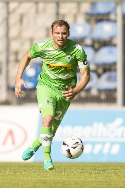 Tony Jantschke of Borussia Moenchengladbach during the friendly match between SV Waldhof Mannheim and Borussia Moenchengladbach at Carl-Benz Stadium on July 9, 2016 in Mannheim, Germany.