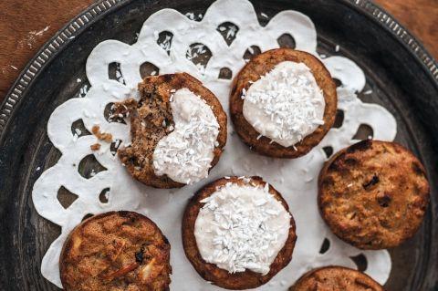 Stenalder-dessert: Solskinsmuffins   Slankeklubben.dk