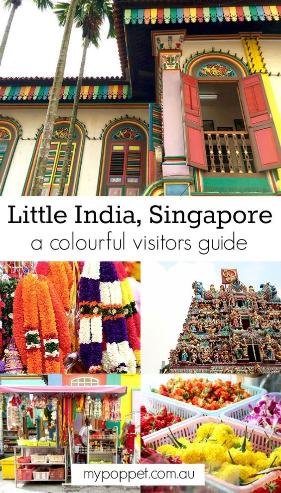 SINGAPORE: The colours of Little India - My Poppet Living
