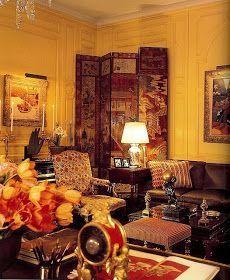 Image result for parish hadley yellow living room 1965