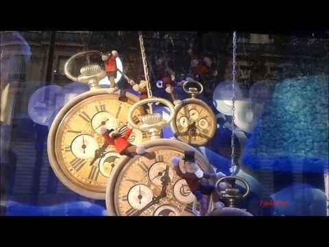 Galeries Lafayette Vetrine Animate Natale 2013 - Paola Pino - YouTube