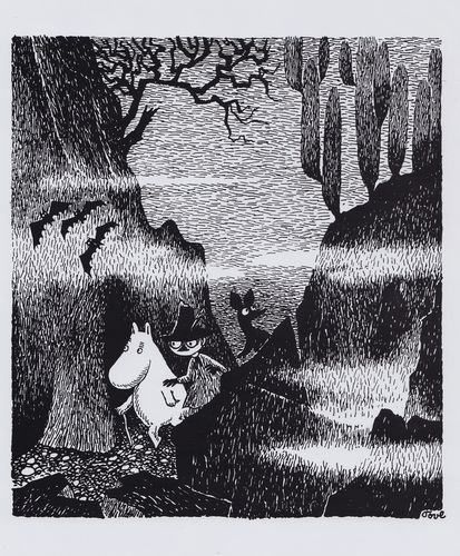 Moomin Poster 24 x 30 cm Moomintroll, Snufkin and Sniff | eBay