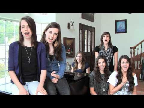 Cimorelli. Great cover of Lady Gaga's You and I.