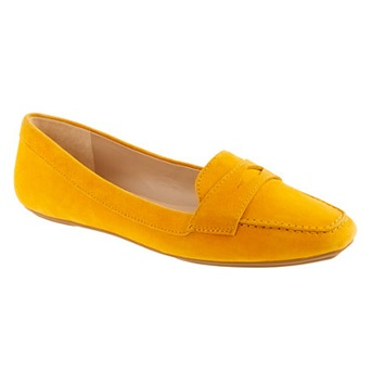 cute loafersSuede Pennies, Dreams Shoes, Crew, Yellow Shoes, Fancy Shoes, Pennies Loafers, Beautiful Fashion, Yellow Loafers, Lexington Suede