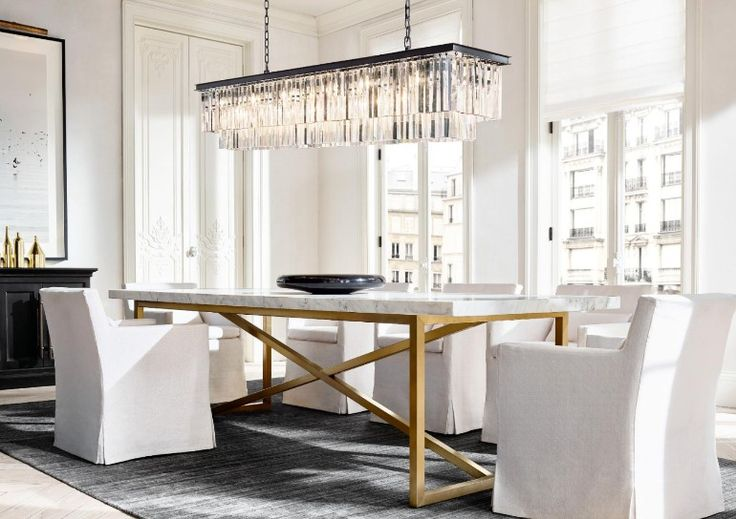 The Most Sophisticated Dining Room Furniture By Restoration Hardware | Dining Room Ideas. Dining Room Chairs. Dining Room Table. #diningroomideas #diningroomdesign #diningroomdecor Read more: http://diningroomideas.eu/sophisticated-dining-room-furniture-restoration-hardware/