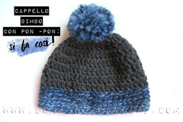 Cappello Facile da Bimbo: Schema di Uncinetto