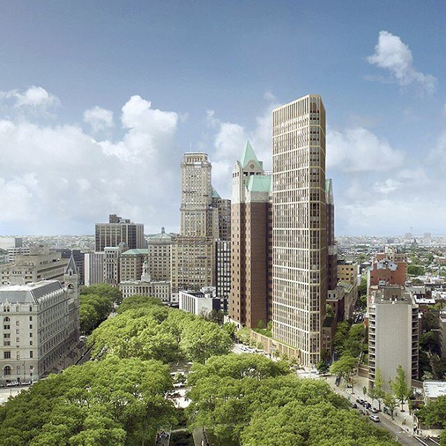 Department of Buildings approved the demolition of the Brooklyn Heights Library building. #buidling #brooklyn #brooklynheights #library #architecture #demolition #apartment