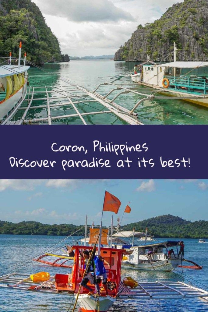 Coron Philippines 20 incredible images Popular boat tours, places to visit in Coron town and unique attractions and photo inspiration visiting Coron in the Palawan Islands of the Philippines