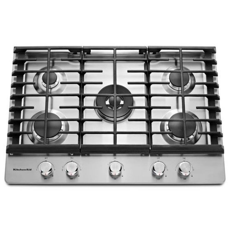 Kcgs550ess by kitchenaid natural gas cooktops