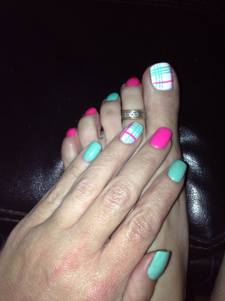 23 Best Matching Finger Nails And Toes Images On Pinterest
