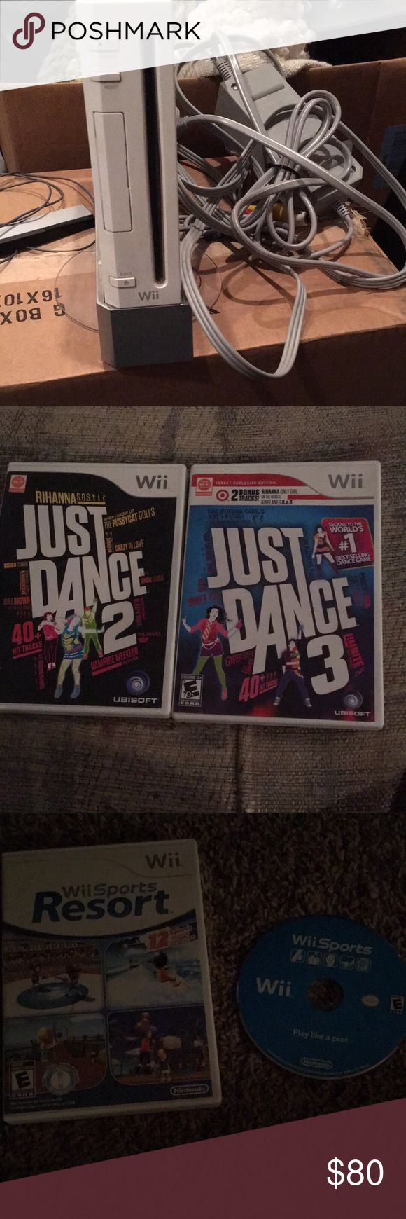 Wii Bundle Wii bundle. Everything listed for one price! Nintendo Other
