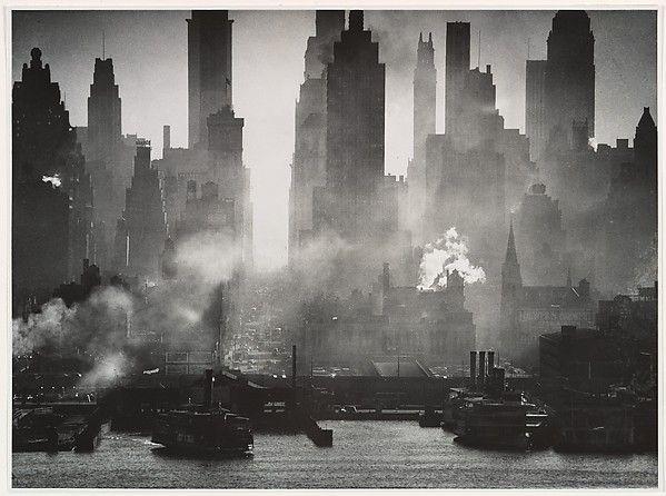 Andreas Feininger | Midtown Manhattan Seen from Weehawken, New Jersey | The Met