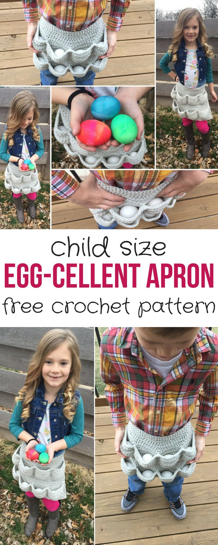 Egg-cellent Child SizeApron http://hearthookhome.com/egg-cellent-child-size-egg-gathering-apron/?utm_campaign=coschedule&utm_source=pinterest&utm_medium=Ashlea%20K%20-%20Heart%2C%20Hook%2C%20Home&utm_content=Egg-cellent%20Child%20Size%20Egg%20Gathering%20Apron