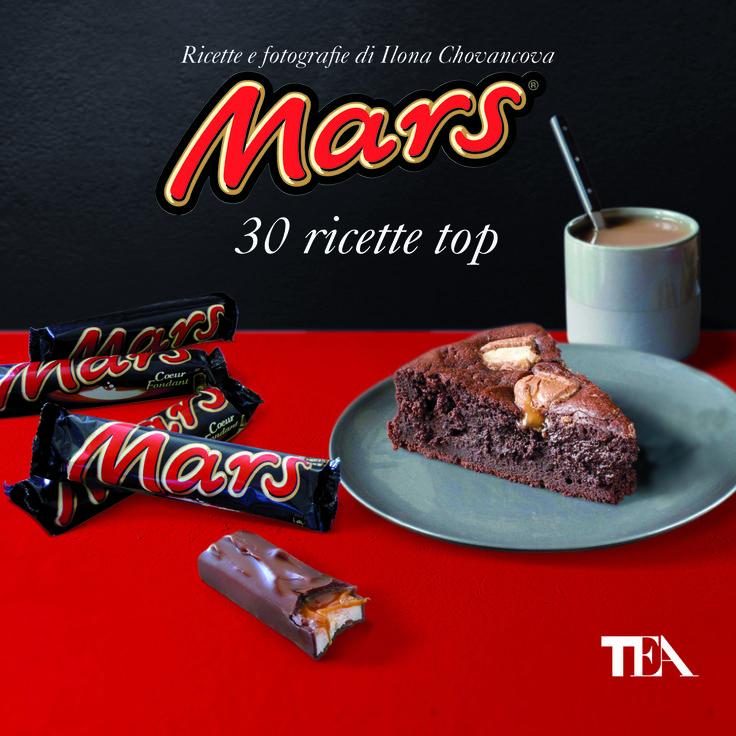 Dalla mousse al tiramisù, dal cheesecake al biancomangiare, ai muffin... e molte altre golosissime ricette con la mitica barretta al cioccolato (dal 14/11/2013 - http://www.tealibri.it/generi/cucina_manuali_e_varia/mars_30_ricette_top_9788850233052.php)