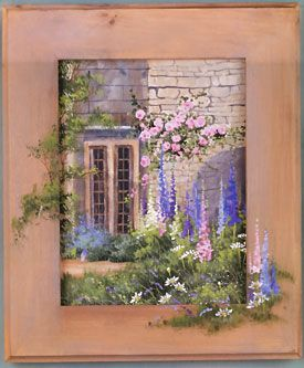 ways to finish paintings (inspiration) Ros Stallcup