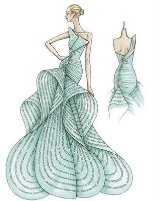 Las cosas de anichu: La moda en dibujos