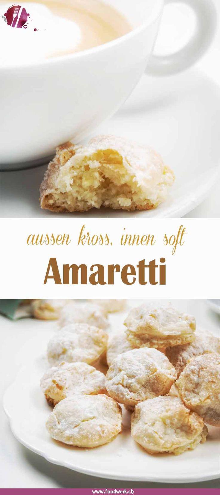 Amaretti sind der italienische Klassiker schlecht hin. Das Gebäck muss für uns aussen kross und innen soft sein, nur so ist es für uns ein gutes Amaretti. Die Amaretti eignen sich auch super als Geschenk und kommen garantiert gut an.