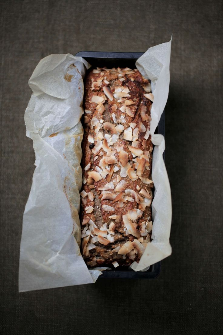 Banana   Coconut Bread : The Healthy Chef – Teresa Cutter
