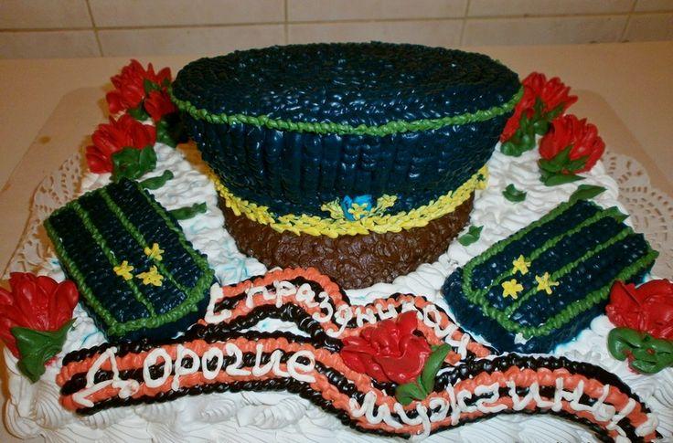 Что подарить мужчине на 23 февраля: торт