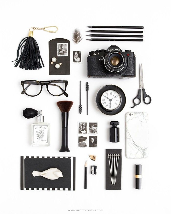 The Placement of Things: Black & White Styling and Photography by Shay Cochrane.