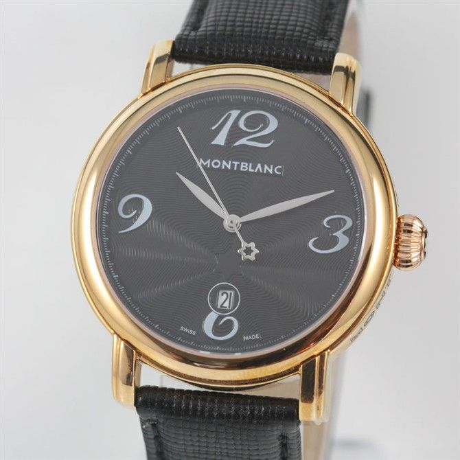 Replica MontBlanc Watch 2013 $179.00 http://www.swisstrendy.com/replica-montblanc-watch-2013-swiss-store-3a2028.html