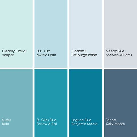 shades of blue paint colors 2 pinterest aqua decor on kelly moore paint colors chart id=69167
