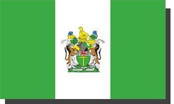 Rhodesia - 3' x 5' Polyester Flag by flagline. $13.00. 3' x 5'. 100% Polyester. Our standard Foreign Historic flags are constructed with high quality 100% polyester. Screen printed for accurate and vibrant reproductions of the various countries' flags. These flags also have a header with brass grommets.  Rhodesia became Zimbabwe Rhodesia in 1979, then in from 1979-1980 it made a brief return to colonial status before it became the present day independent nation of Zimbabwe.