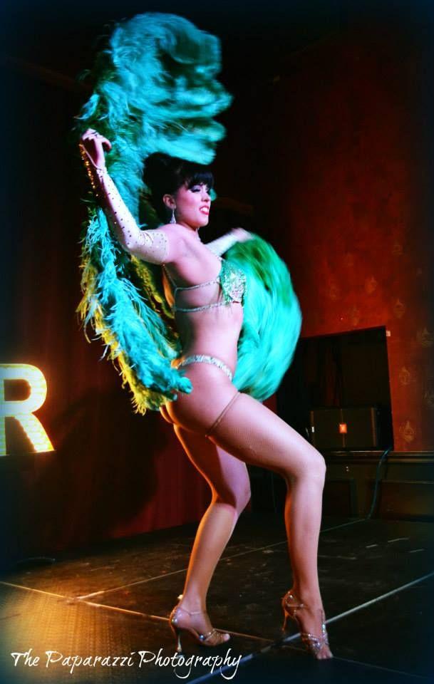 Ginger Valentine   Burlesque