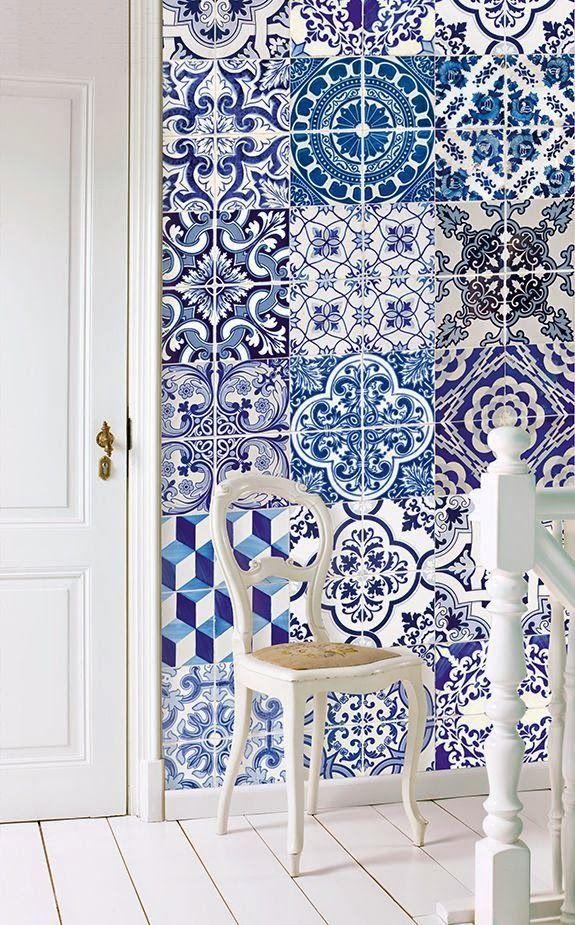 Efeito patchwork na decoração