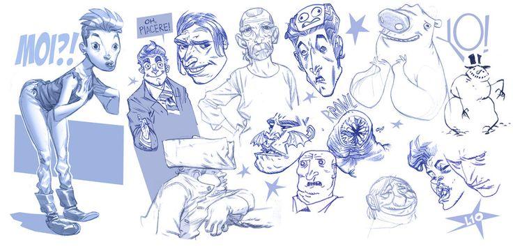Sketches Again. by dietrock on DeviantArt