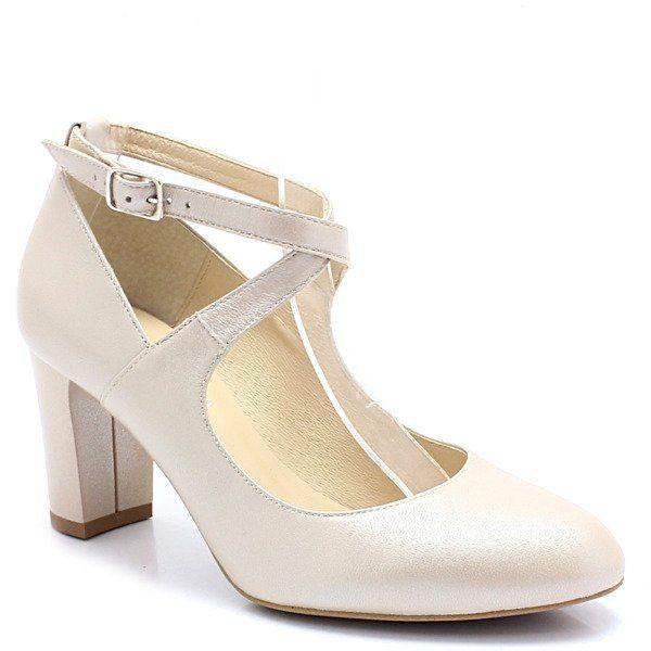Kotyl 7091 Perla Lico Pelne Czolenka Slubne Buty Damskie Czolenka Pora Roku Damskie Wiosna Pora Roku Damskie Jesien Buty Damski Heels Shoes Fashion